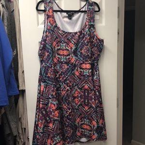 Torrid size 3 right above knee dress